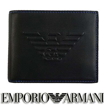 エンポリオ アルマーニ 財布 EMPORIO ARMANI メンズ 二つ折り財布 Y4R165 YG90J 81072