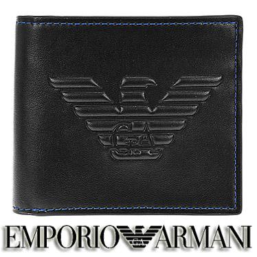 エンポリオ アルマーニ 財布 EMPORIO ARMANI メンズ 二つ折り財布 Y4R167 YG90J 81072