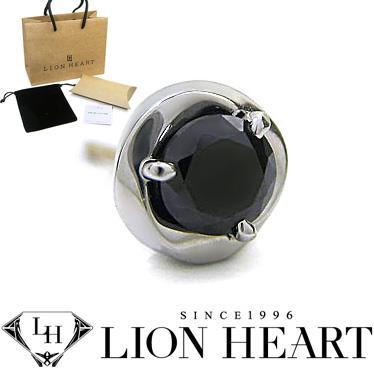 ライオンハート ピアス LION HEART シルバー925 シングルスタッドピアス メンズ メビウス 01EA0311BK