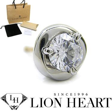 ライオンハート ピアス LION HEART シルバー925 シングルスタッドピアス メンズ メビウス 01EA0311CL