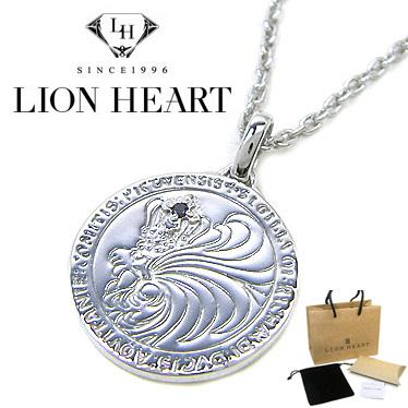 ライオンハート シルバー925 ネックレス LION HEART Howl ハウルコインペンダント 01NE0521BK