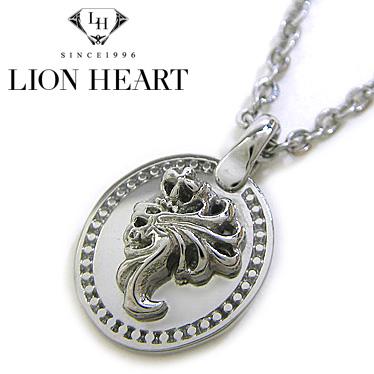 ライオンハート ネックレス LION HEART Howl コインハウルペンダント スモール LHMN010H ステンレスネックレス