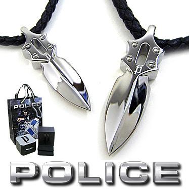 ポリス ペアネックレス メンズ レディース POLICE IMPACT ペンダント 2本セット 20575PLB01 /26136PLB-A ブラック 【楽ギフ_メッセ入力】