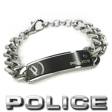 ポリス ブレスレット POLICE UNIVERSAL 25334BSS01 ステンレスアクセサリー 【楽ギフ_メッセ入力】