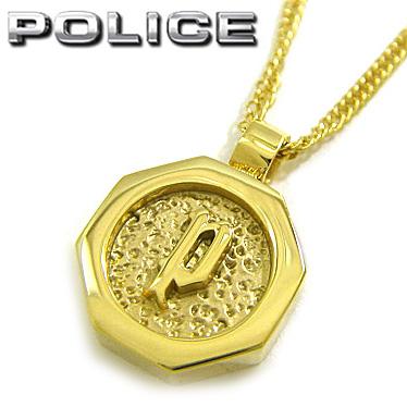 ポリス ネックレス POLICE プレート ペンダント TOKEN PICCOLO 26377PSG02