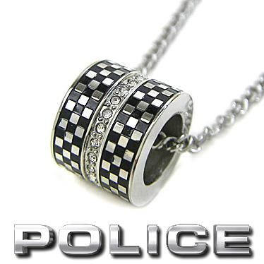 ポリス ネックレス POLICE メンズ リングネックレス SOLIN 26395PSS01 ステンレス