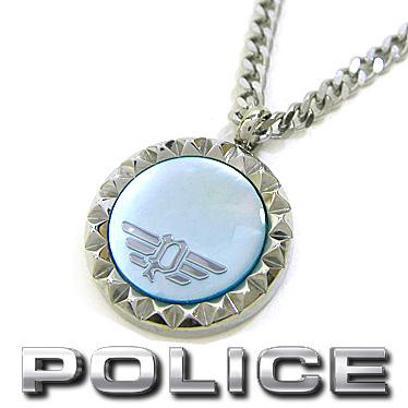ポリス ネックレス POLICE マザーオブパール ペンダント VERNAZZA 26515PSS01 ステンレスネックレス