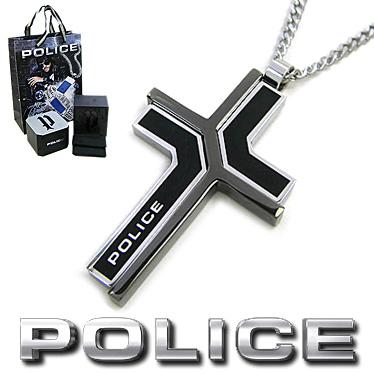ポリス ネックレス POLICE メンズ クロス ペンダント COLMAR 26531PSB01 ステンレスネックレス