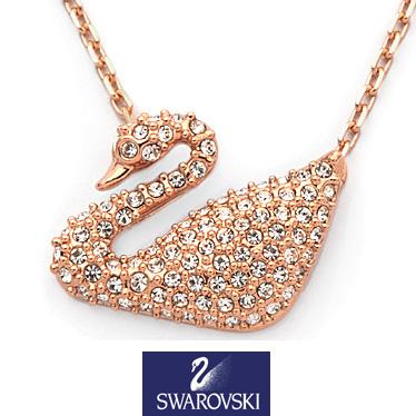スワロフスキー ネックレス SWAROVSKI Swan ペンダント 5121597 【楽ギフ_メッセ入力】