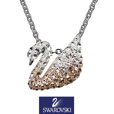 スワロフスキー ネックレス SWAROVSKI Iconic Swan Small ペンダント 5215038 【楽ギフ_メッセ入力】