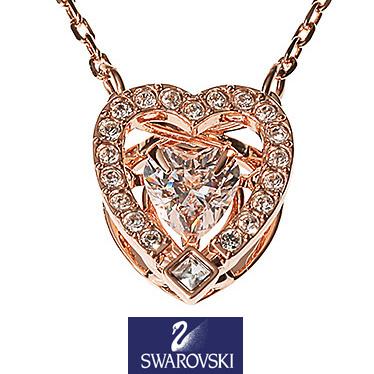スワロフスキー ネックレス SWAROVSKI Sparkling Dance Heart ペンダント 5284188 【楽ギフ_メッセ入力】