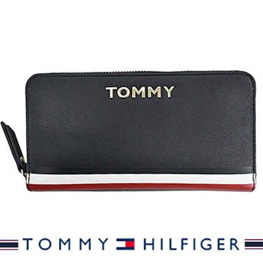 トミーヒルフィガー 財布 TOMMY HILFIGER 長財布 メンズ ラウンドファスナー SKY CAPTAIN AW0AW07736