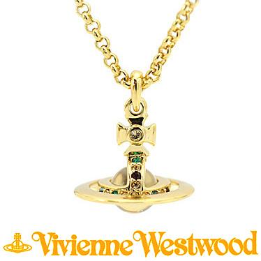 ヴィヴィアン ウエストウッド ネックレス Vivienne Westwood PETITE ORB プチオーブ ペンダント 752116B/2 (1504-14-01) ゴールド