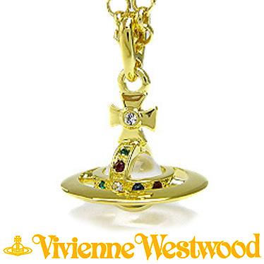 ヴィヴィアンウエストウッド ネックレス Vivienne Westwood タイニーオーブ ペンダント ゴールド 752014B/2 (1466/14/01)