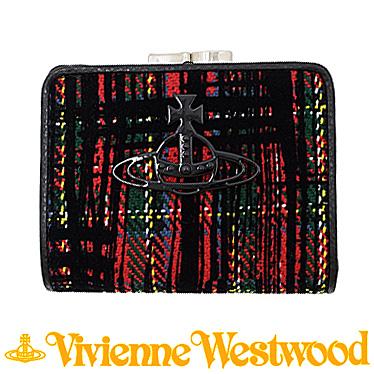 ヴィヴィアンウエストウッド 財布 Vivienne Westwood レディース 二つ折りガマ口財布 51010019 11017 RED