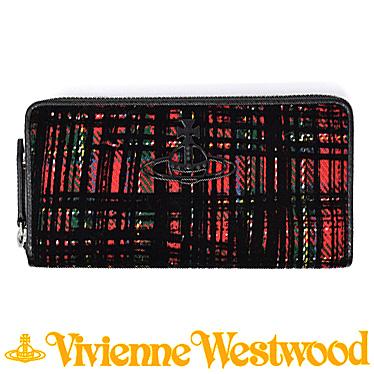 ヴィヴィアンウエストウッド 財布 Vivienne Westwood レディース 長財布 ラウンドファスナー 51050024 11017 RED