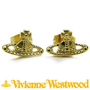 ヴィヴィアン ウエストウッド ピアス Vivienne Westwood FARAH BE787/1 ゴールド 【楽ギフ_メッセ入力】