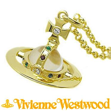 ヴィヴィアンウエストウッド ネックレス Vivienne Westwood スモールオーブ ペンダント ゴールド 752106B/2 (1465/14/01)