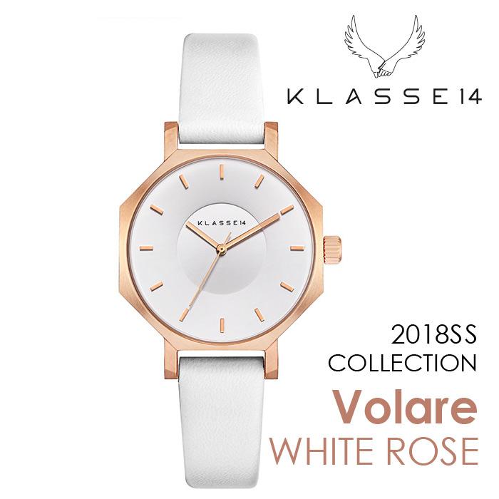 【新作】【2年保証】KLASSE14 OKTO WHITE ROSE OK18RG003S 28mm 正規取扱店 クラス14 ホワイトローズ ホワイト 腕時計 レディース メンズ 人気 ブランド ● ● ラッピング無料