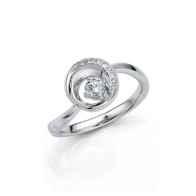 これまで の感謝の気持ちと これから 希望者のみラッピング無料 も変わらない愛情を10粒のダイヤモンドに込めて最愛の人に贈りませんか? Sweet Diamond 10 Circle-10056 卸売り PT900