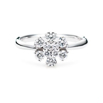 Sweet 10 Diamond【Bloom-10029】Pt900 0.20ct