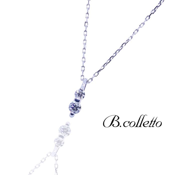 シンプル 贈答 大人可愛い ギフト プレゼント 入荷予定 クリスマスプレゼント Vertical Necklace B.colletto バーティカルネックレス