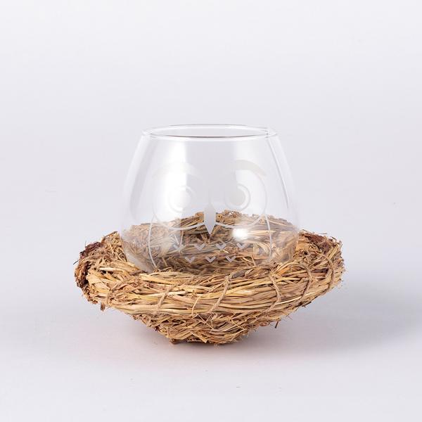ゆらゆらと揺れるフクロウのグラス 大きく揺らしても転ばないグラスは結婚祝いにもおすすめです FLOYD フクロウグラスフロイド グラス 食器 ラッピング無料 現金特価 ギフト のし対応商品 推奨