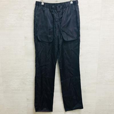 nobuyuki matsui ノブユキマツイ 結婚祝い 20SS Lining Pants 2 中古 パンツ 定番から日本未入荷 ブラック メンズ