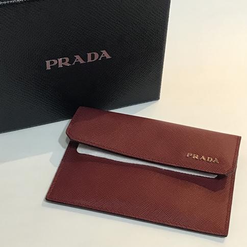 PRADA プラダ カードケース 【レディース】【中古】