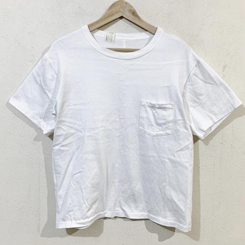 N.HOOLYWOOD UNDER SUMMIT WEAR エヌハリウッド アンダーサミットウエア ポケットT Tシャツ 38 ホワイト 【中古】【メンズ】