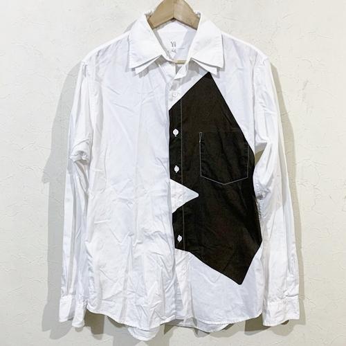 Y's ワイズ 二重襟デザインシャツ 3 【中古】【レディース】