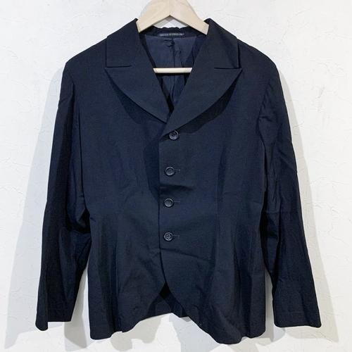 Y's  ワイズ YE-J01-100 ウールギャバジャケット 3 ブラック 【レディース】【中古】