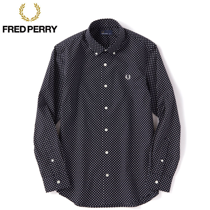 brooklynmuseum | Rakuten Global Market: FRED PERRY Fred Perry dot ...