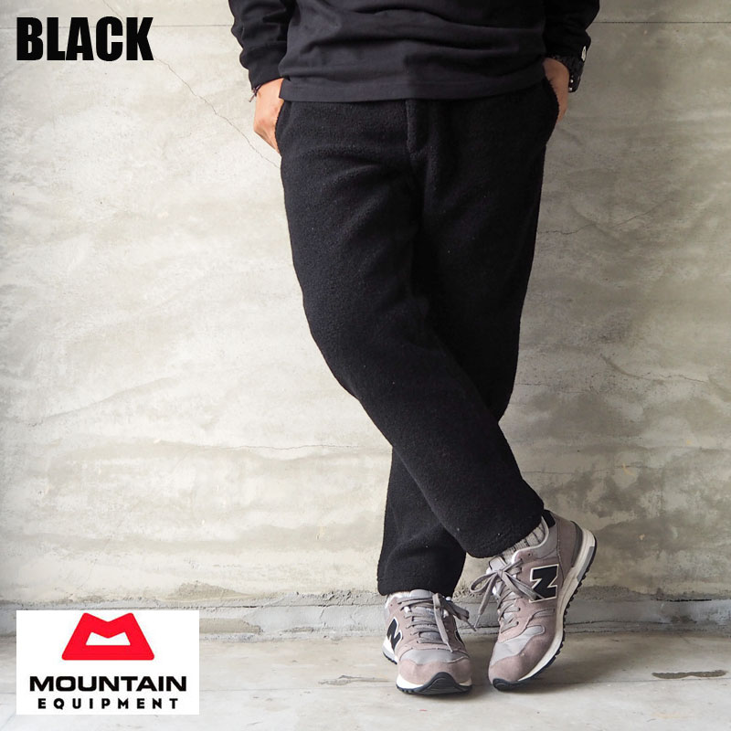 MOUNTAIN EQUIPMENT マウンテンイクイップメント パンツ ウール ボア クライミングパンツ 425464 メンズ レディース WOOL BOA CLIMBING PANTS イージーパンツ クライミング アウトドア 登山 トレッキング 黒 ブラック テクノウール