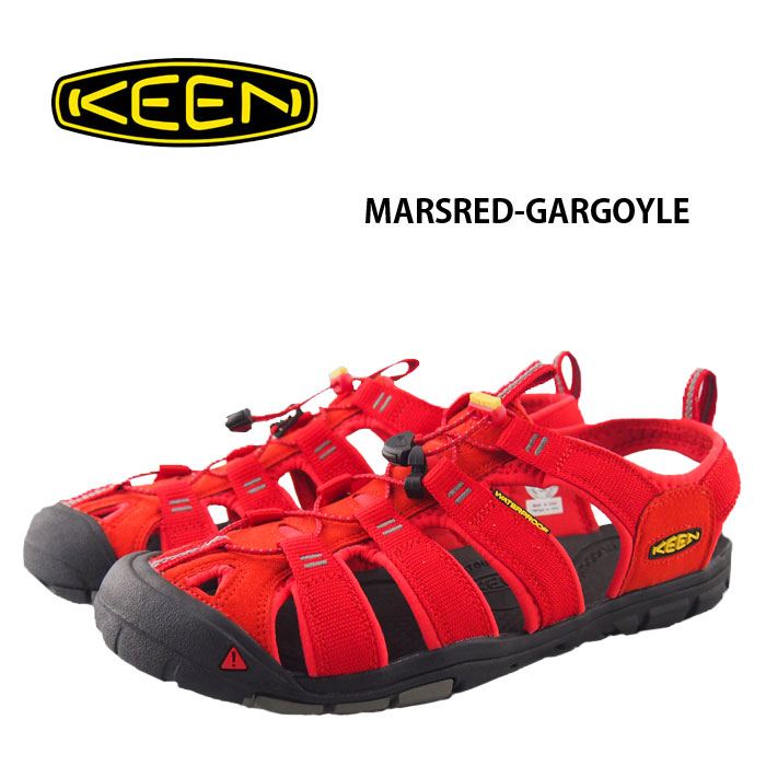 brooklynmuseum  KEEN Keen Sandals Clearwater CNX Mars Red Clearwater seen x  red mens 1010984