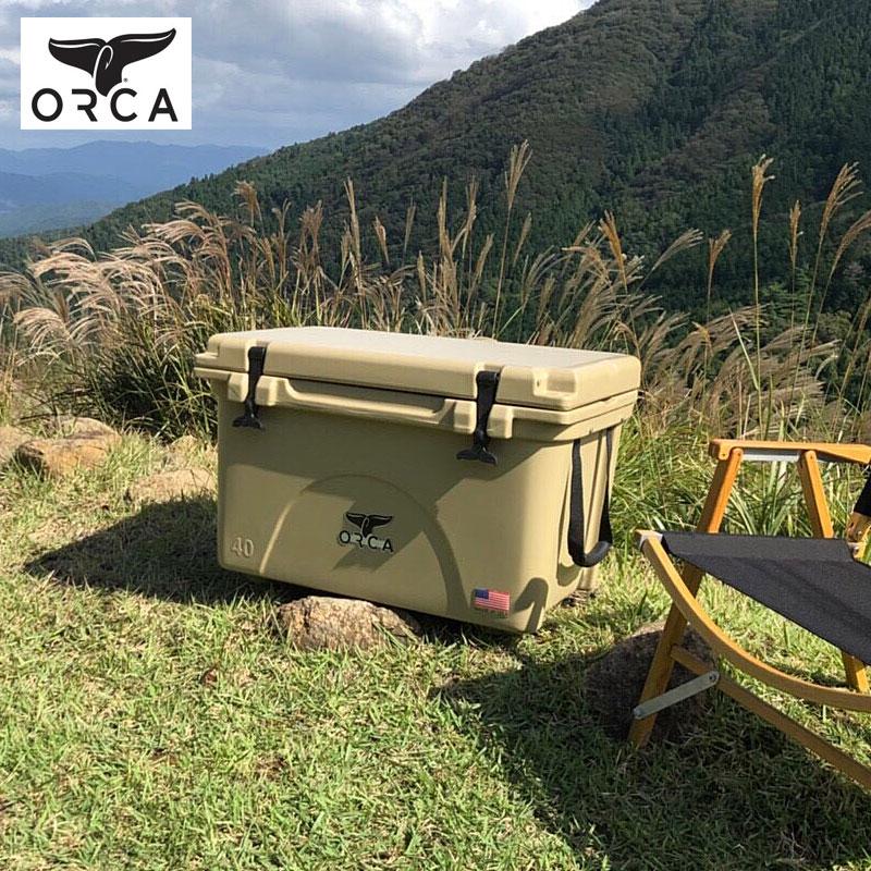 ORCA オルカ クーラーボックス ORCT040 ORCG040 ORCBK040 クーラーBOX 大型 大容量 38L おしゃれ 保冷 釣り アウトドア キャンプ レジャー バーベキュー 海水浴 スポーツ フィッシング クーラーバッグ 保冷バッグ 椅子