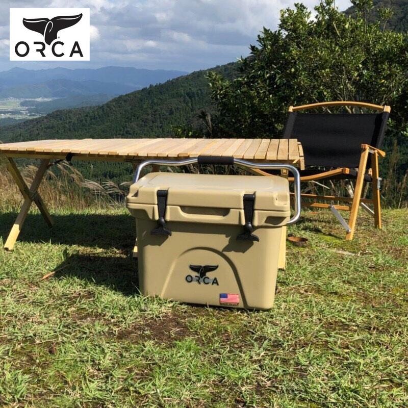 ORCA オルカ クーラーボックス ORCT020 クーラーバッグ 保冷 おしゃれ 19L 釣り アウトドア キャンプ レジャー バーベキュー 海水浴 スポーツ フィッシング 保冷バッグ クーラーBOX 椅子