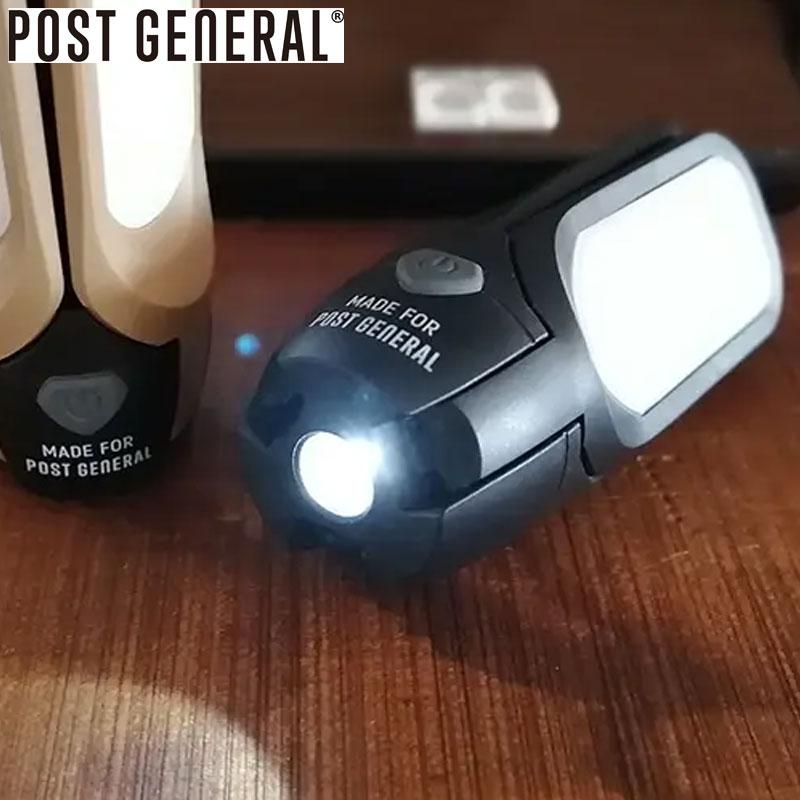 様々なライフシーンで活躍するLED照明 キャンプにも持っていきたいアイテム AW20Z POST GENERAL ポストジェネラル ライト 発売モデル 照明 TRI-PANEL SOLAR CHARGED LED LIGHT 98207 エルイーディーライト アウトドア ソーラーチャージド おしゃれ 電気 灯り トリ-パネル キャンパー 携帯 携帯ライト ソーラー キャンプ 引き出物