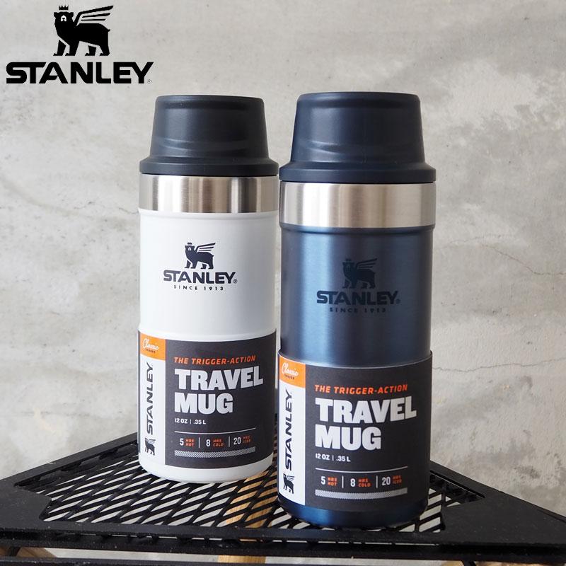 片手で持ちやすいワンハンドマグ レトロな雰囲気がおしゃれなクラシックシリーズ SS20Z STANLEY スタンレー 水筒 CL 真空 ワンハンドマグ2 0.35L 10-06440 H6L ボトル マグボトル 魔法瓶水筒 レディース シンプル 真空ボトル 保温 マグ アウトドア ステンレス製 キャンプ クラシック 小さめ 売り込み 保冷 おしゃれ メンズ 新品未使用正規品