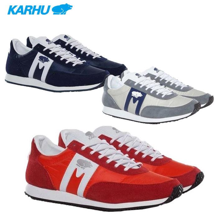 KARHU カルフ ALBATROSS F802505 F202502 F802501 スニーカー 靴 シューズ レディース アルバトロス GRAY グレー ネイビー NAVY 紺 レッド RED 赤