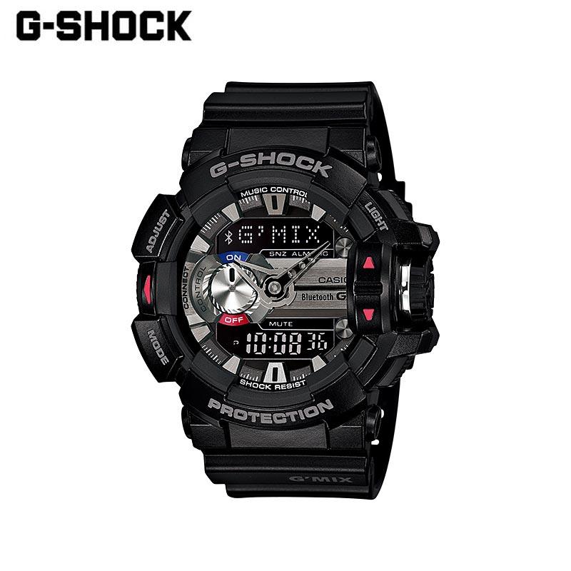 CASIO カシオ G-SHOCK ジーショック G'MIX ジーミックス 腕時計 GBA-400-1AJF GBA-400-1A9JF GBA-400-1AJF メンズ レディース アナデジ 耐衝撃 防水 ワールドタイム LED アラーム タイマー モバイルリンク Bluetooth カジュアル お洒落 多機能