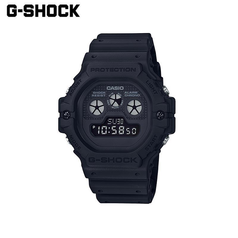 CASIO カシオ G-SHOCK ジーショック 腕時計 DW-5900BB-1JF メンズ レディース 黒 ブラック デジタル 防水 アラーム シンプル ビジネス アウトドア カジュアル スポーツ プレゼント ギフト 贈り物 父の日