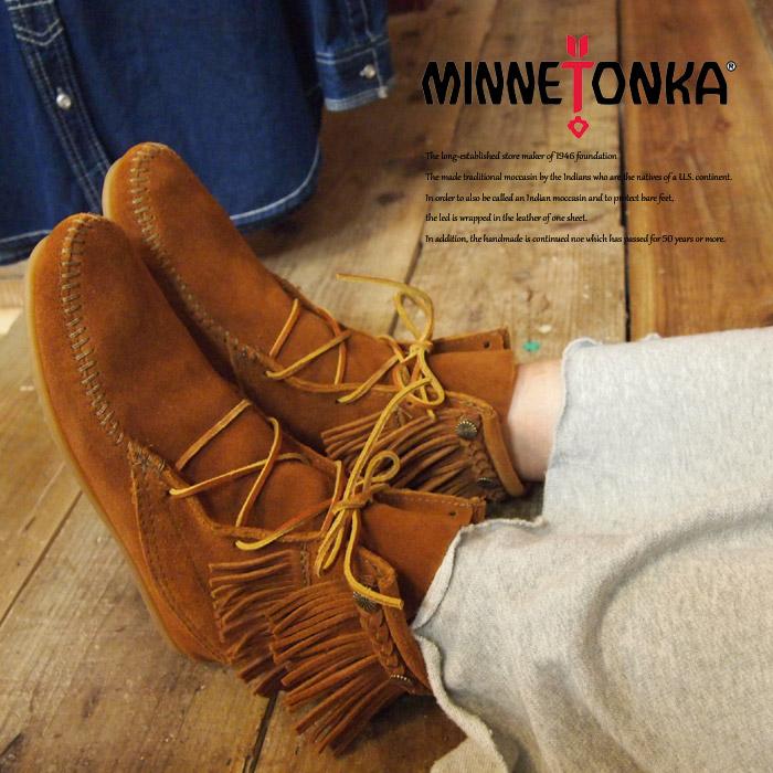 MINNETONKA ミネトンカ Double fringe front lace boots ダブルフリンジフロントレースブーツ 622 629 627T 623