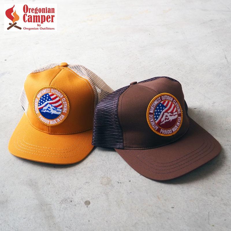 ワッペンロゴが印象的なUSメイドのシンプルなメッシュキャップ 即納 SS21Z Oregonian Camper オレゴニアンキャンパー キャップ メッシュキャップ Mesh Cap OOH502 メンズ レディース 帽子 カーキ ブラウン ワッペン 野球帽 メッシュ キャンプ 店内限界値引き中 セルフラッピング無料 刺繍 キャンパー ベースボールキャップ アウトドア サイズ調節可能 USA製