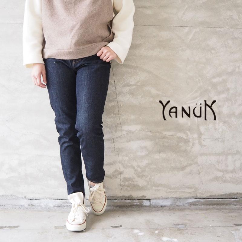 YANUK ヤヌーク デニム パンツ レディース slim tapered RUTH 57191060 デニムパンツ テーパードパンツ ロングパンツ ジーンズ ジーパン シンプル カジュアル きれいめ おしゃれ スリム 美脚 日本製