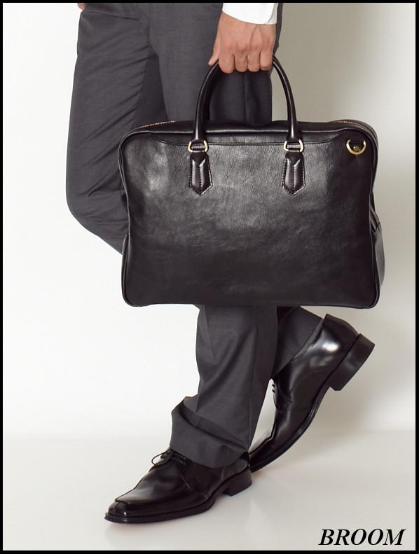 本革 ビジネス トートバッグ メンズ ビジネスバッグ メンズ ブリーフケース レザー トートbag【メンズバッグ】【ビジネス鞄】【ブリ―フケ―ス】BROOM 05P01Nov14【楽ギフ_メッセ入力】