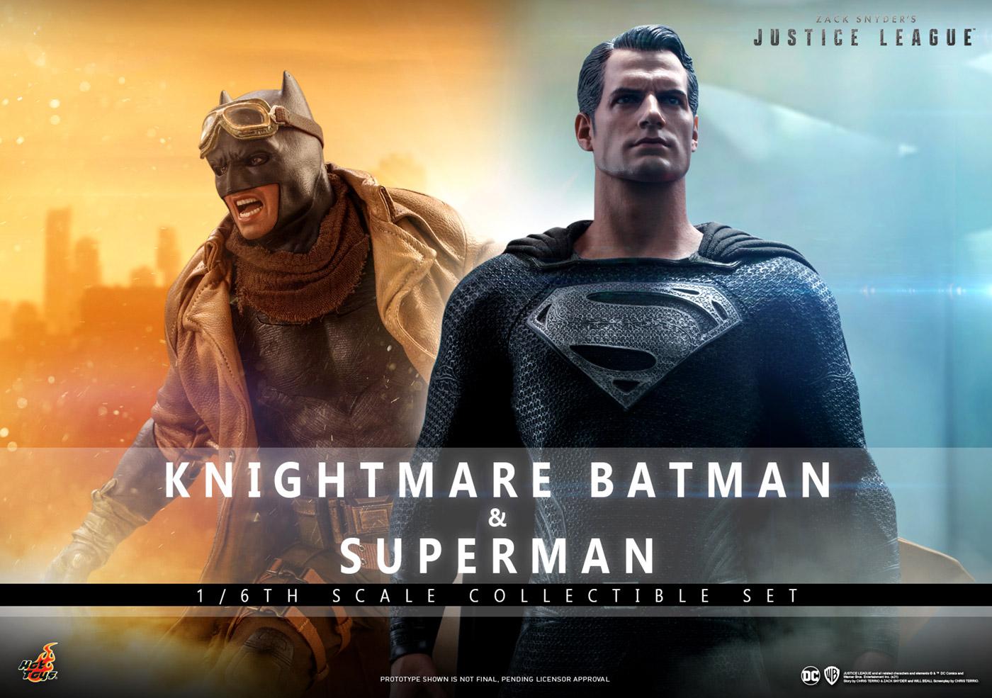 予約品 店 ホットトイズ テレビマスターピース TMS038 ジャスティスリーグ:ザック 人気激安 スナイダーカット スーパーマン 2体セット バットマン 一般流通分 ナイトメア