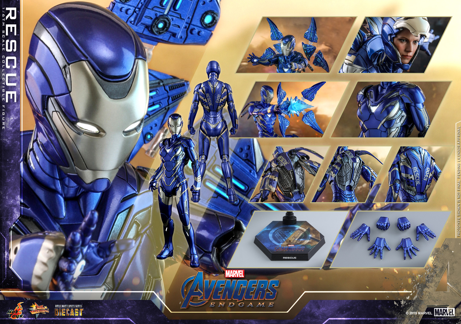 Hottoys ホットトイズ MMS538D32 アベンジャーズ エンドゲーム レスキュー 1 6スケールフィギュア 一般流通分 Avengers: Rescue Endgame 限定タイムセール - OUTLET SALE