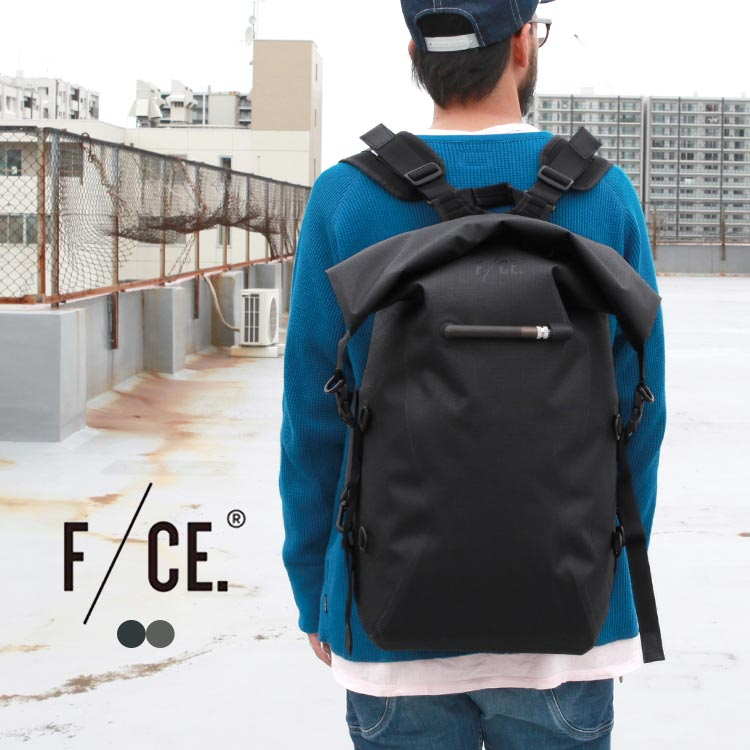 F/CE.(F海E)(FICOUTURE/fikuchuru)NO SEAM ZIP LOCK BAG/背包/帆布背包/防水