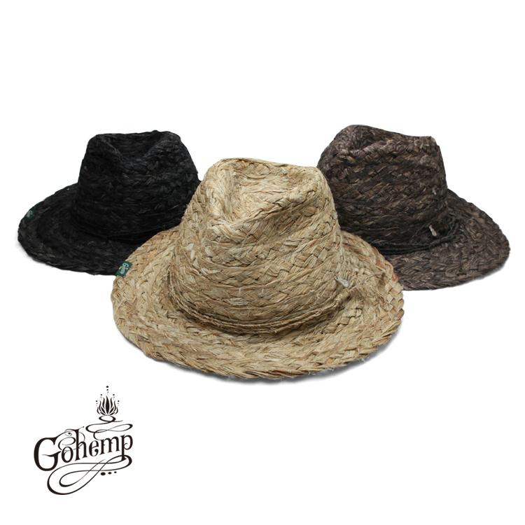 帽子 正規品 ハット ゴーヘンプ GO HEMP 大注目 KUKI HAT GOHEMP